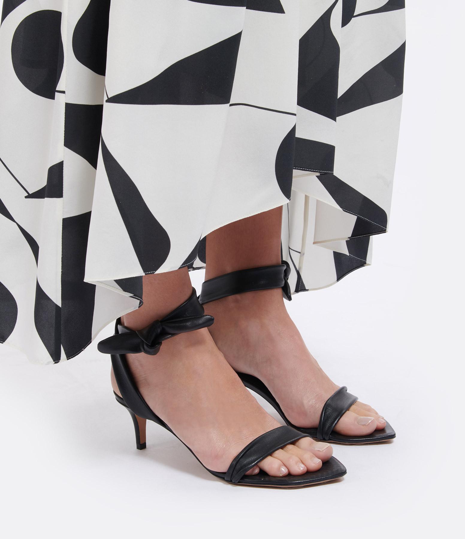 ISABEL MARANT - Sandales Apsule Cuir Noir