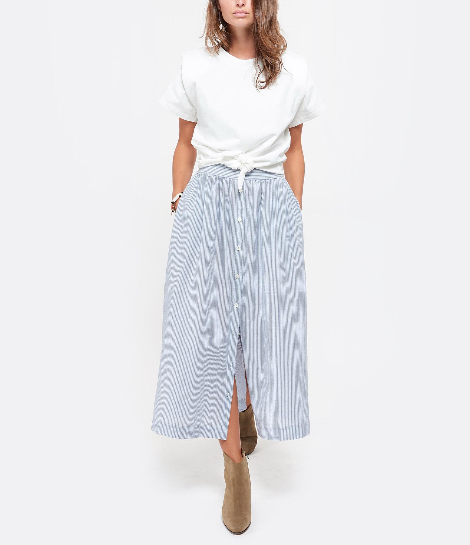 ISABEL MARANT - Tee-shirt Belita Blanc