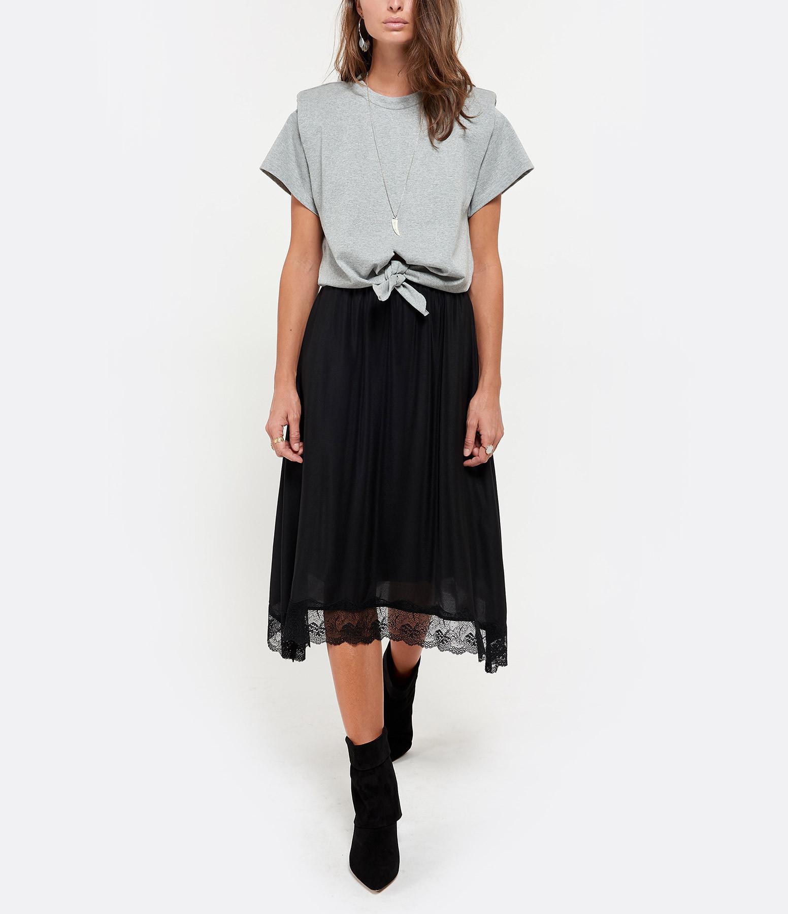 ISABEL MARANT - Tee-shirt Belita Gris
