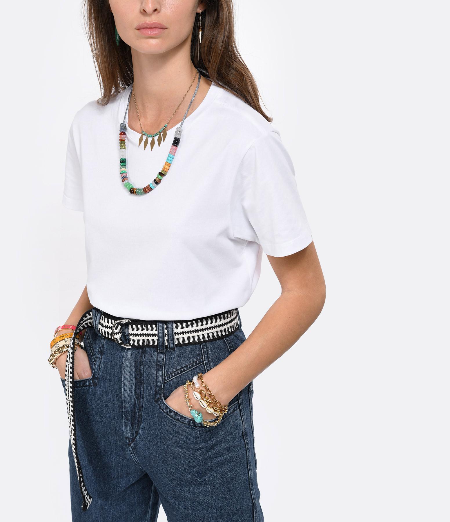 ISABEL MARANT - Tee-shirt Annax Coton Blanc
