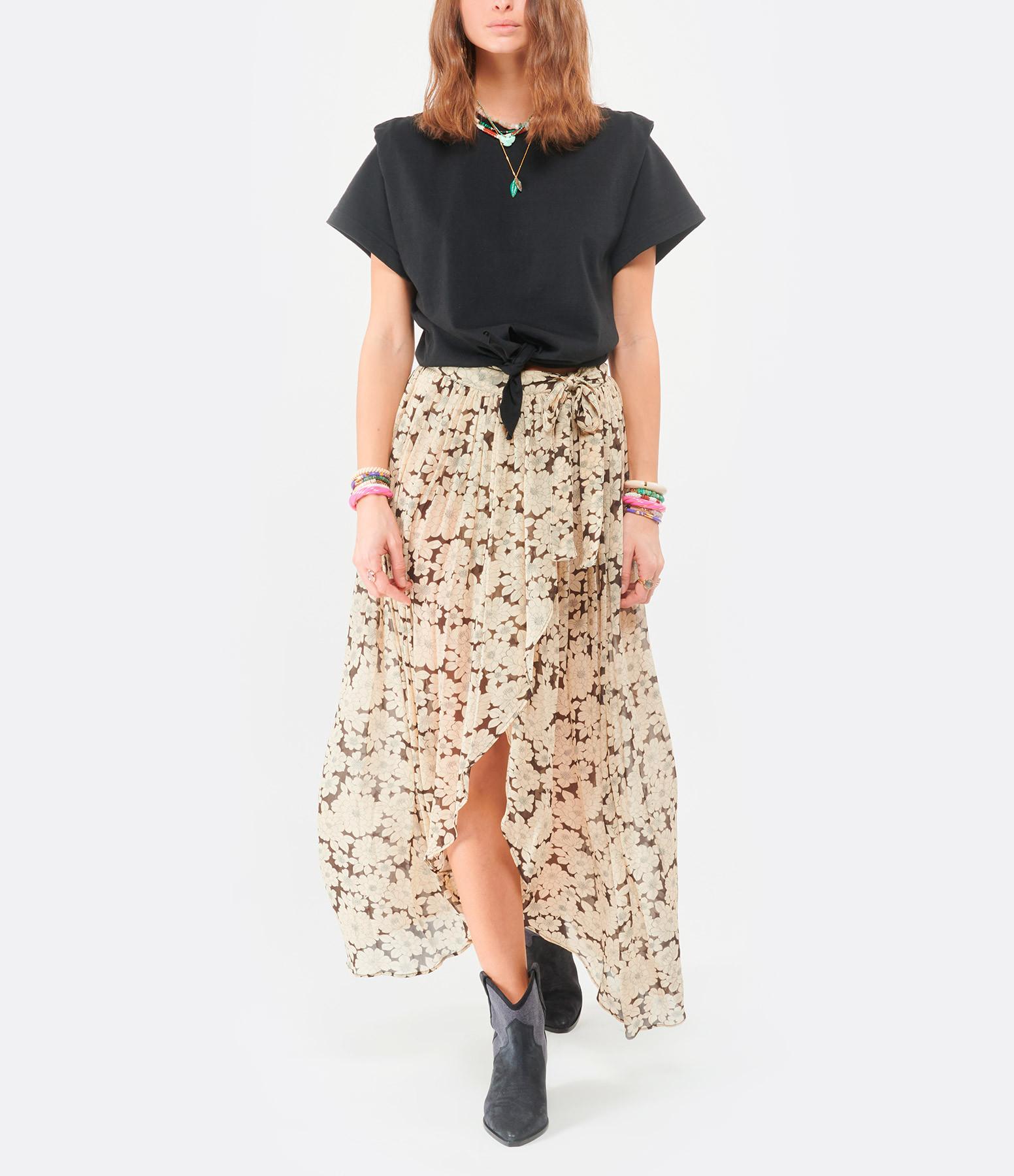 ISABEL MARANT - Tee-shirt Zelito Coton Noir