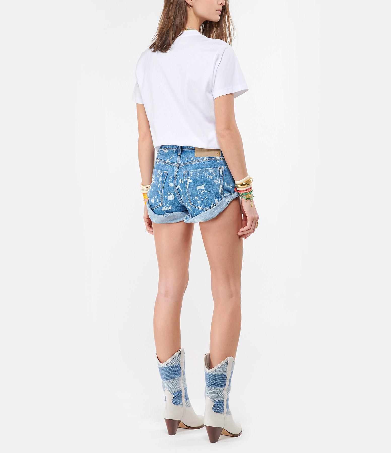 ISABEL MARANT - Tee-shirt Zaof Coton Blanc