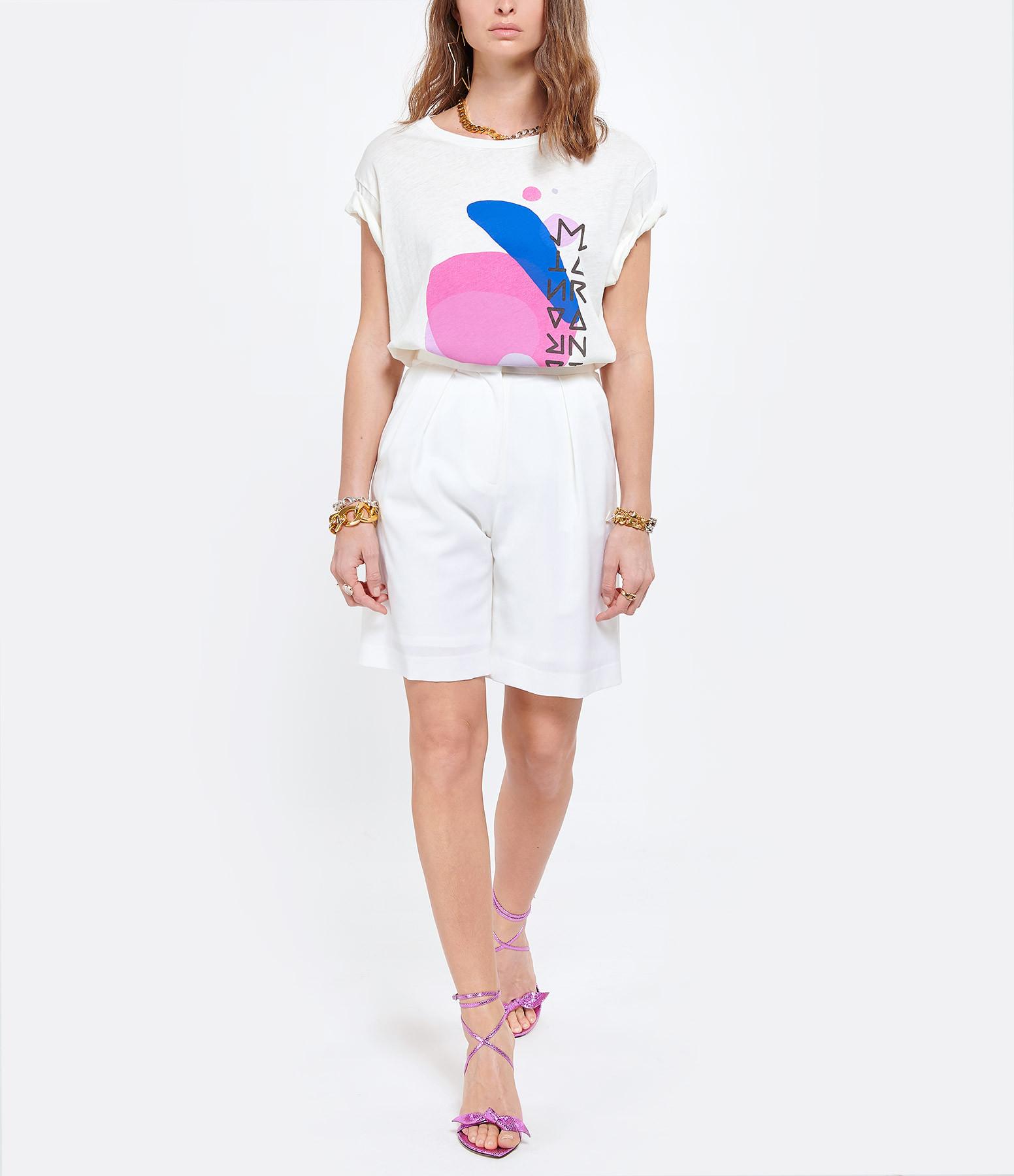 ISABEL MARANT - Tee-shirt Zaffer Coton Écru