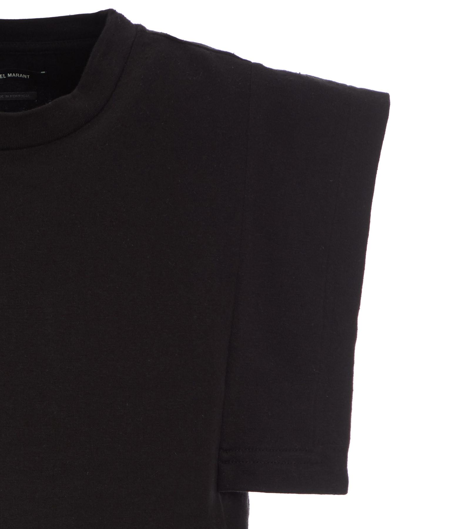 ISABEL MARANT - Tee-shirt Zelipa Coton Noir