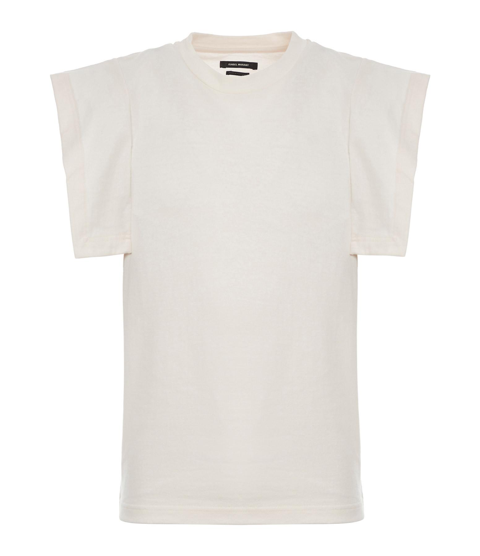 ISABEL MARANT - Tee-shirt Zelipa Coton Écru