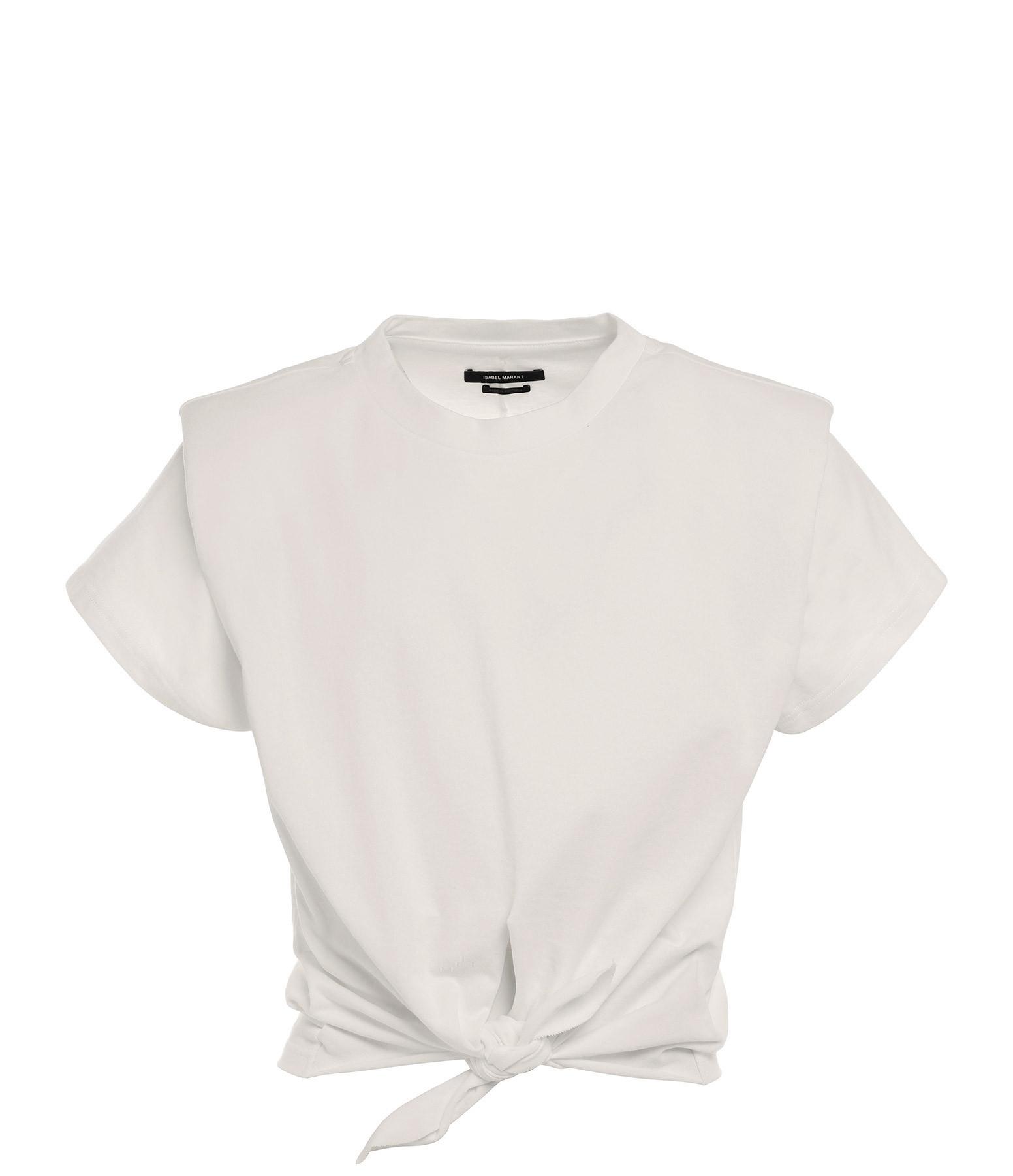 ISABEL MARANT - Tee-shirt Zelito Coton Écru