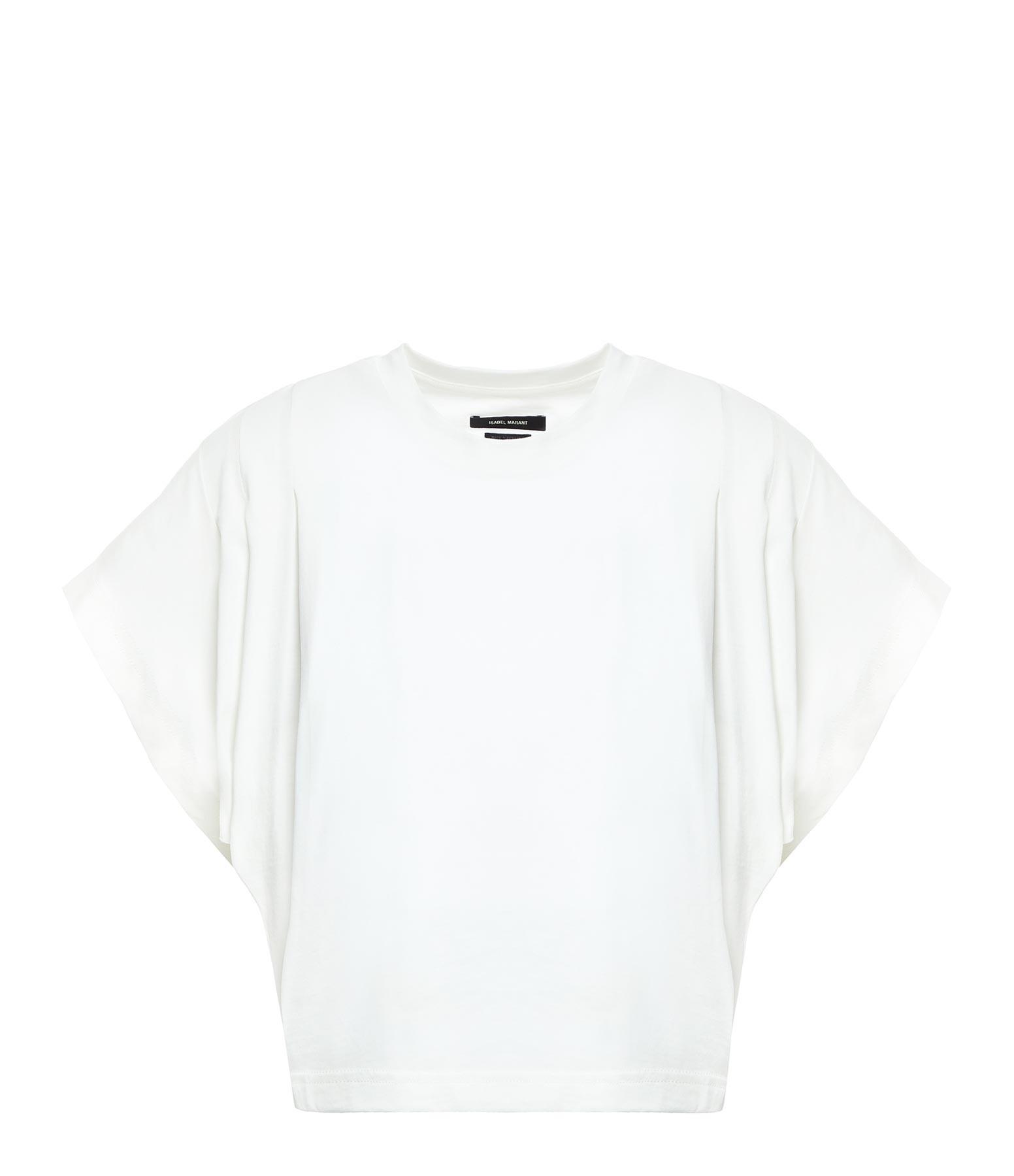 ISABEL MARANT - Tee-shirt Zinalia Coton Écru