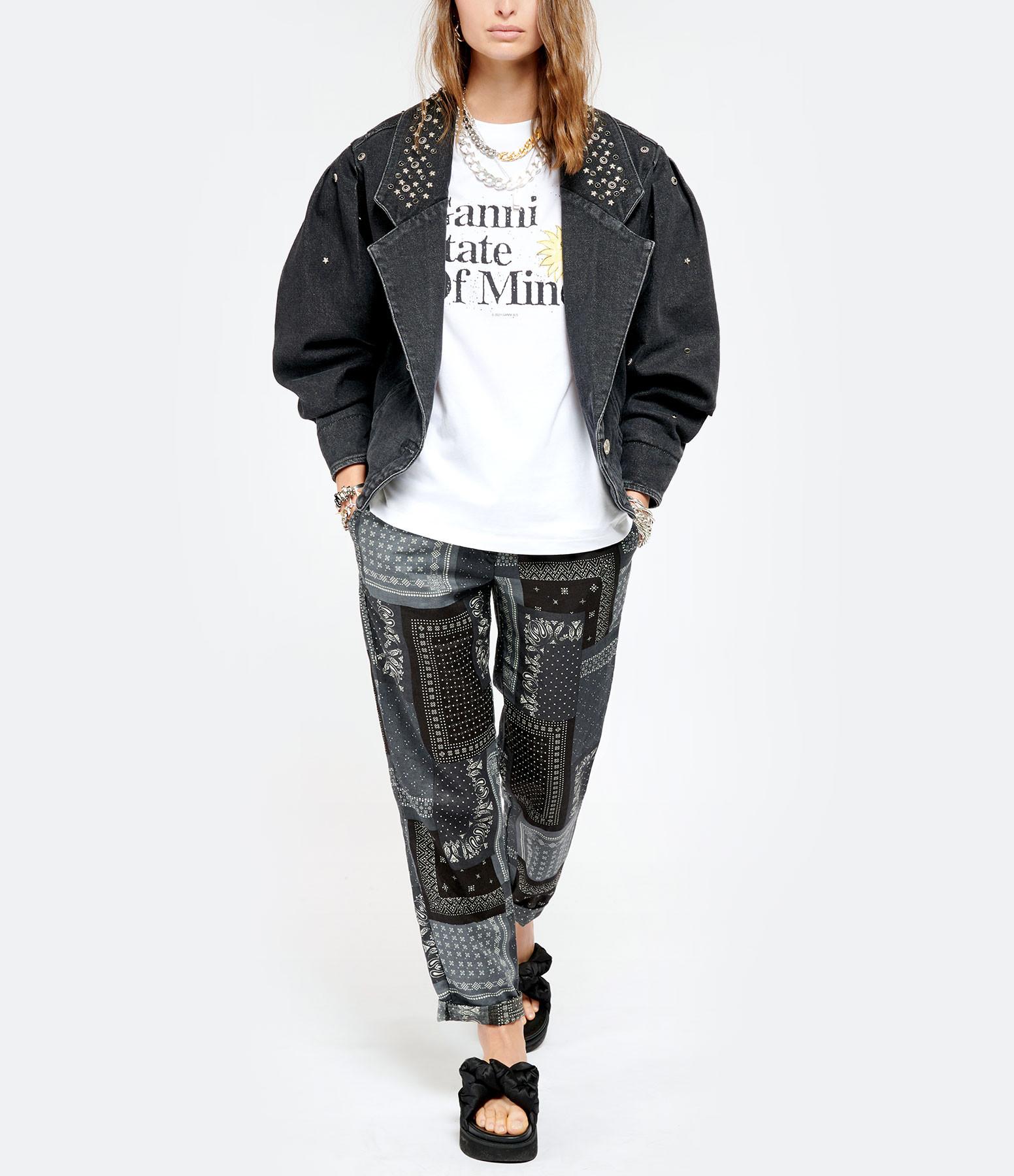 ISABEL MARANT - Veste Depaline Coton Noir Délavé