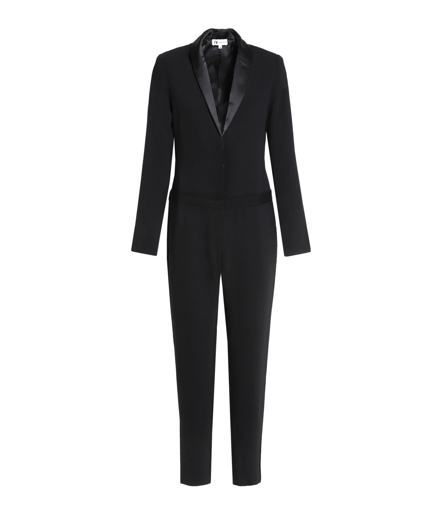 JEANNE VOULAND - Combinaison Pantalon Amé Noir