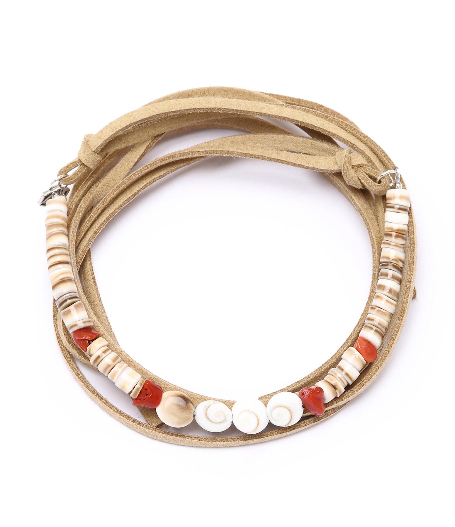 collier bracelet coquillage