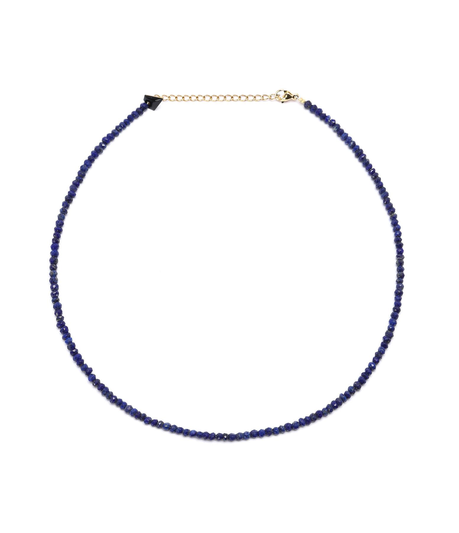 MON PRECIEUX GEM - Collier Facettes Lapis-Lazuli
