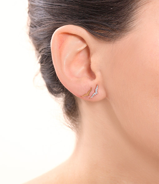 Boucles d'oreilles Wise Diamants - GINETTE_NY