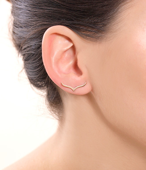 Boucles d'oreilles Wise (unité) - GINETTE_NY