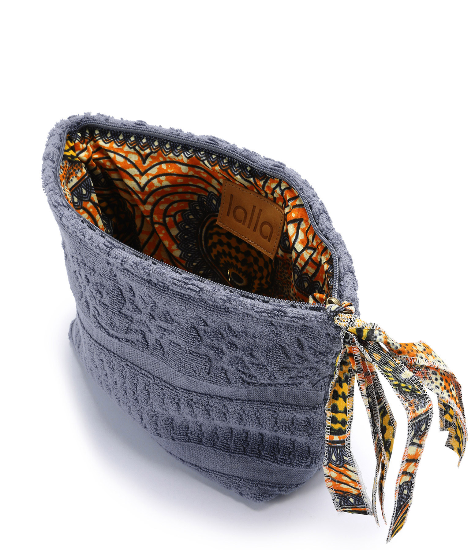 LALLA - Grande Trousse Walakin Eponge Anthracite