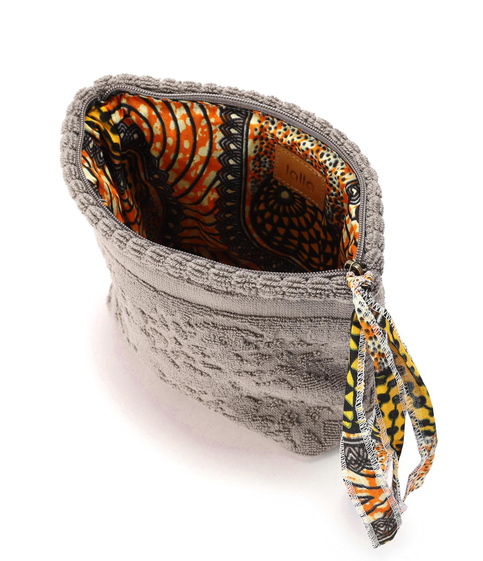 LALLA - Petite Trousse Walakin Eponge Taupe