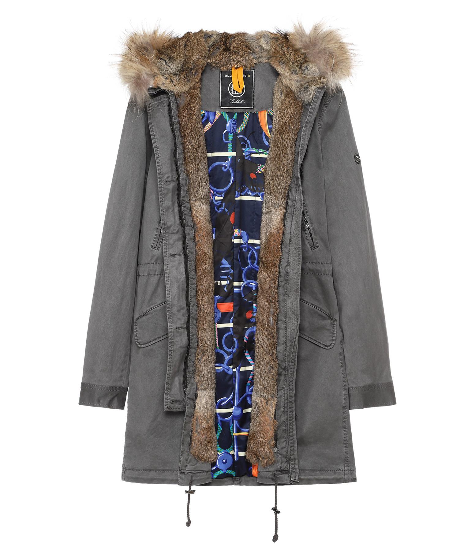 BLONDE N°8 - Parka Aspen 515 Frost Gris