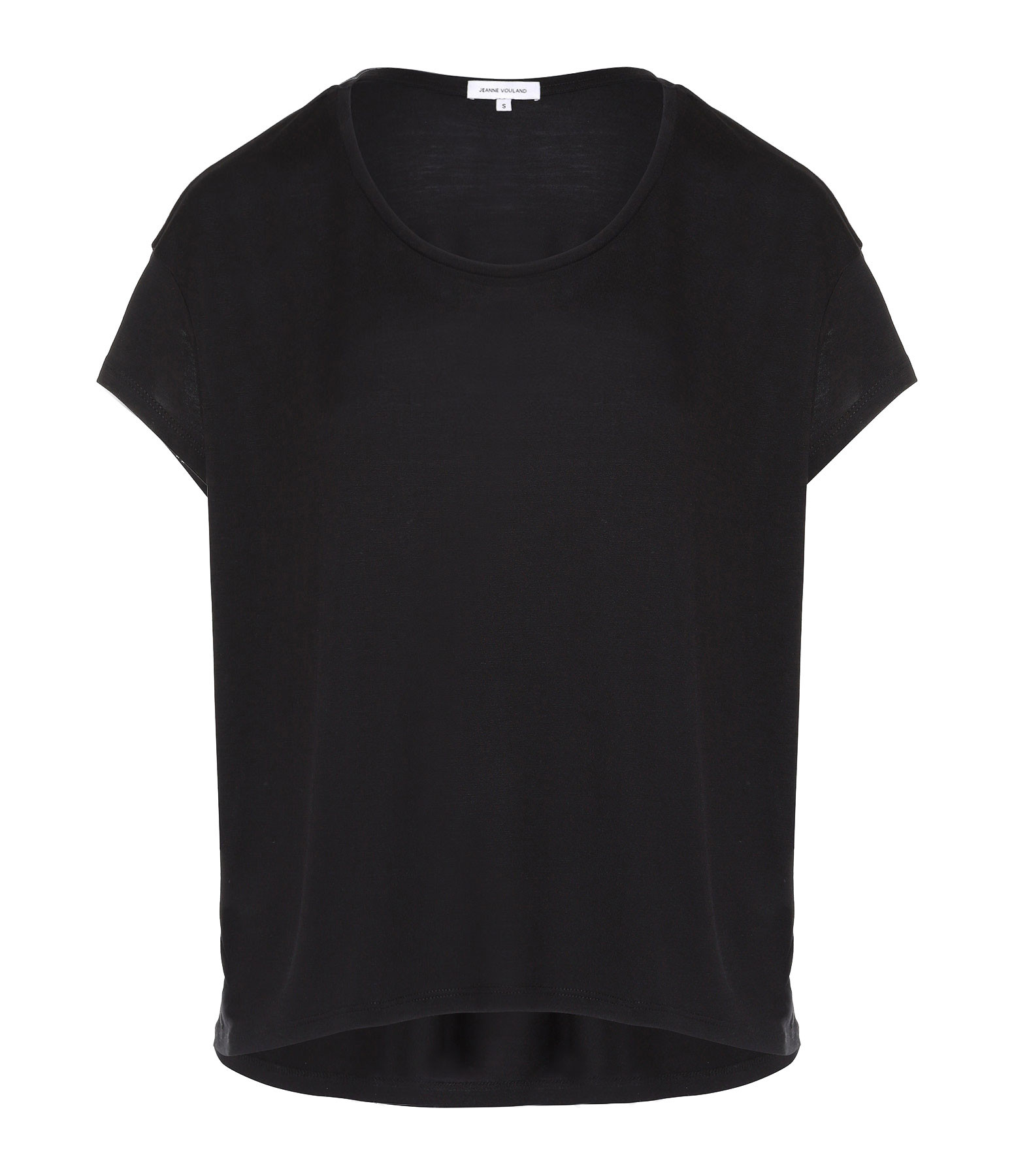 JEANNE VOULAND - Tee-shirt Bach Lyocell Noir