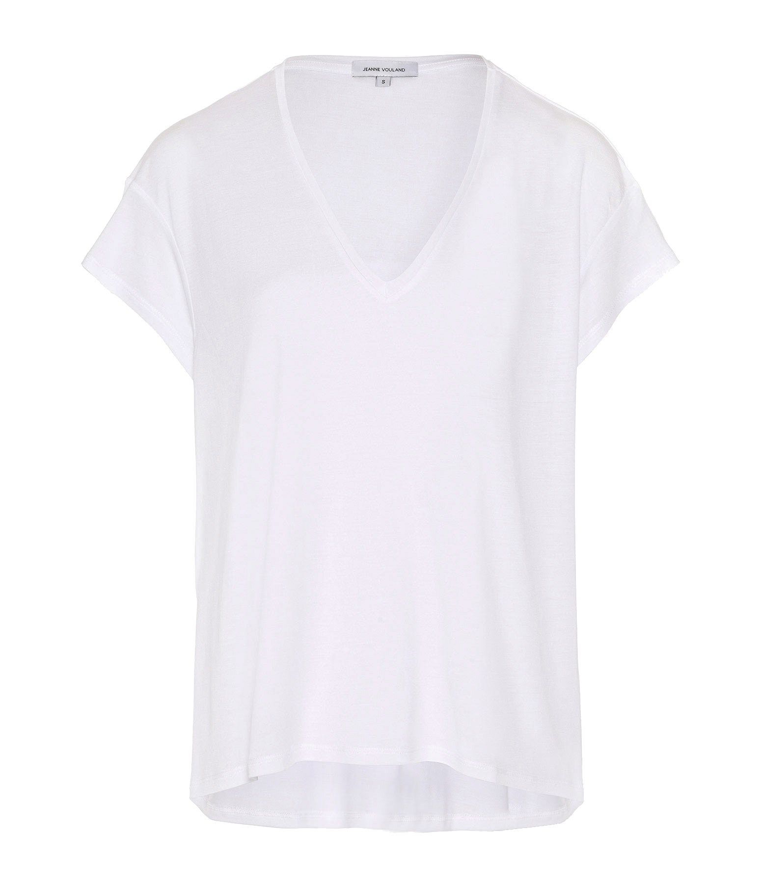 JEANNE VOULAND - Tee-shirt Bacha Lyocell Blanc