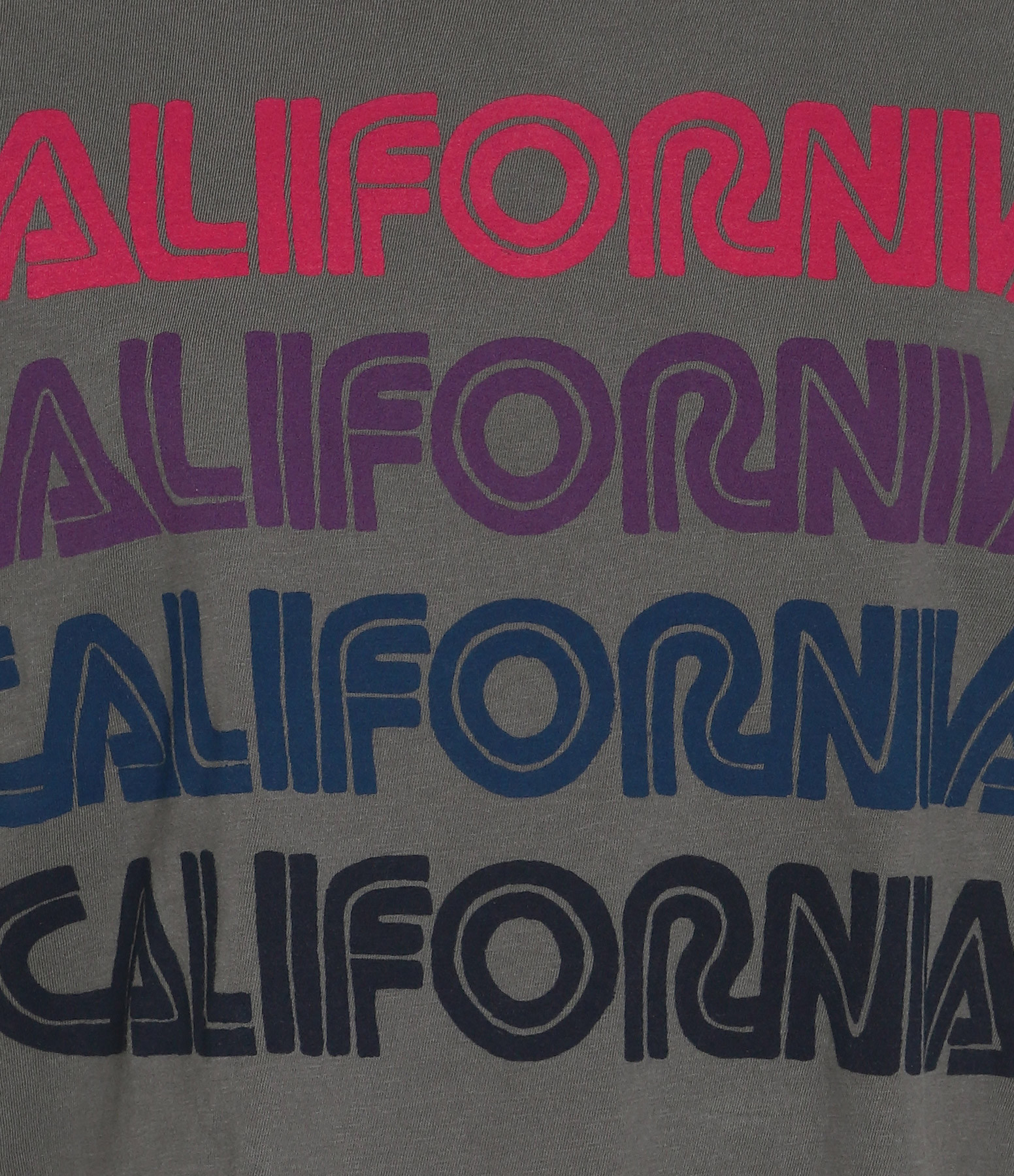 AVIATOR NATION - Tee-shirt California Repeat Vintage Charbon