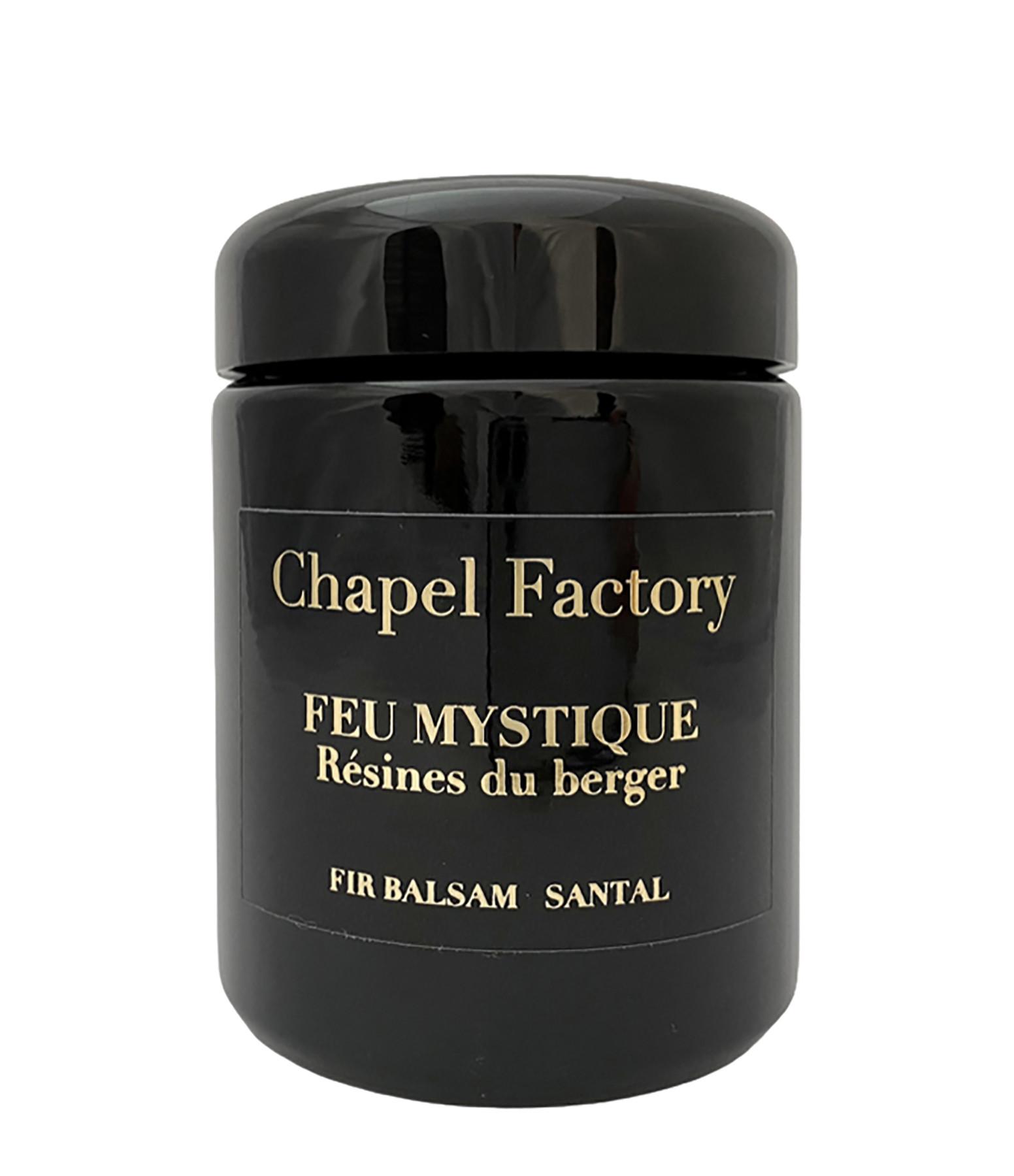 CHAPEL FACTORY - Bougie Feu Mystique 250g