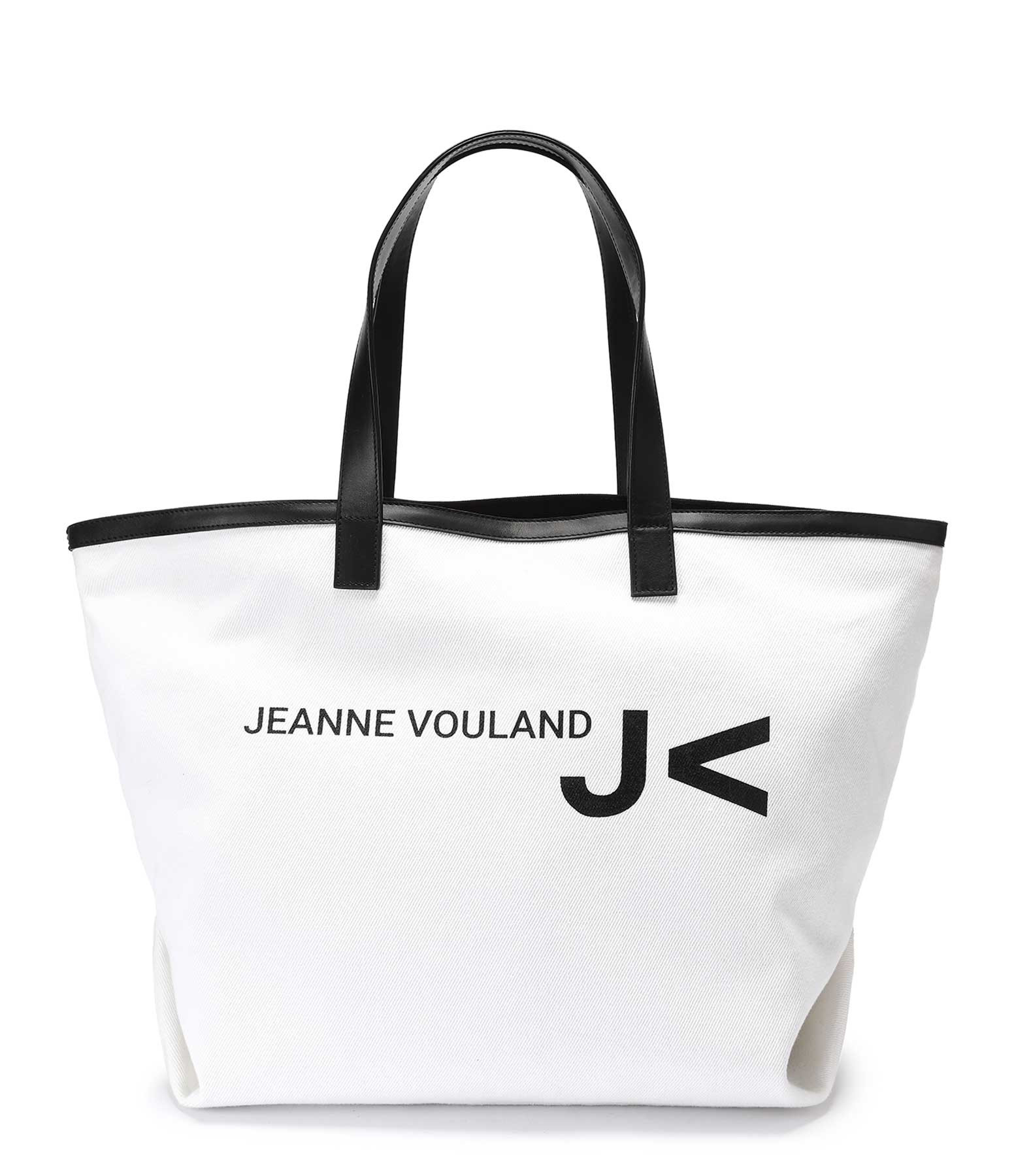JEANNE VOULAND - Cabas Toile Sergé Cely Blanc