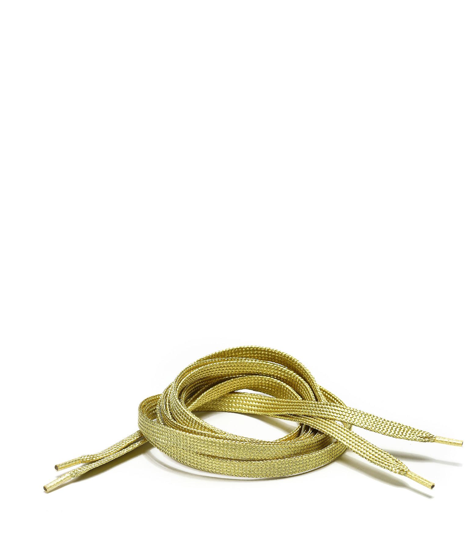 LULLI BASIC - Lacets Plats Dorés 115 cm