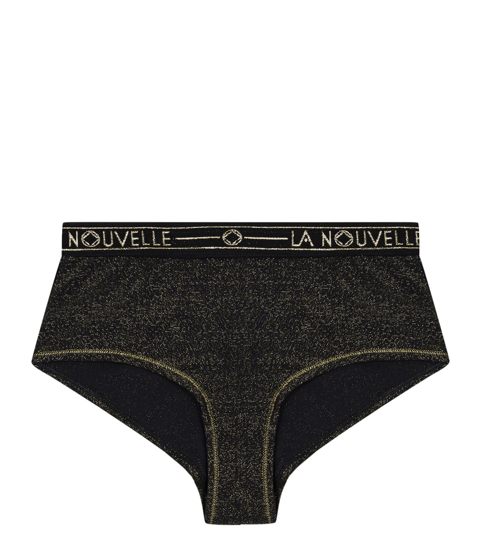 LA NOUVELLE - Shorty Judith Lurex Noir