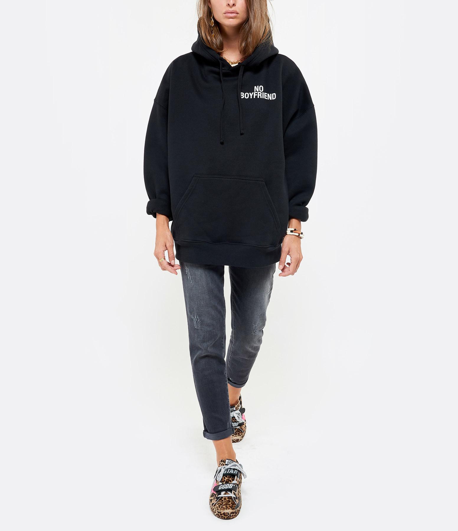 IRO - Sweatshirt Clava Coton Noir