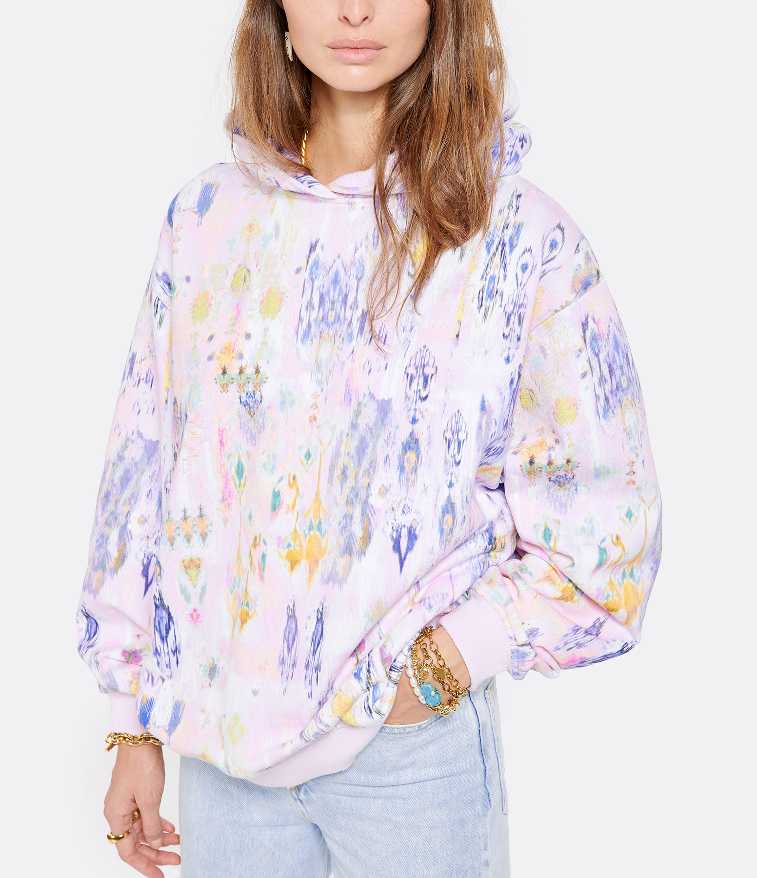 IRO - Sweatshirt Likely Coton Rose