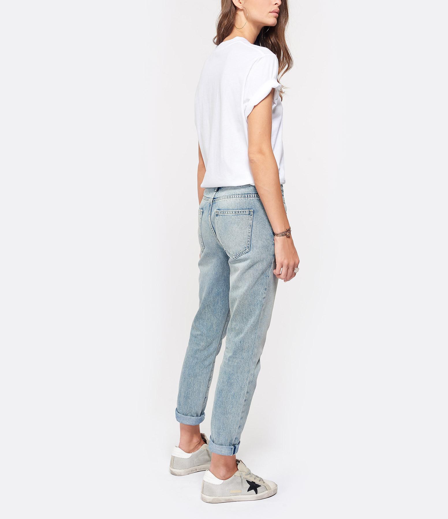 IRO - Tee-shirt Balko Coton Blanc