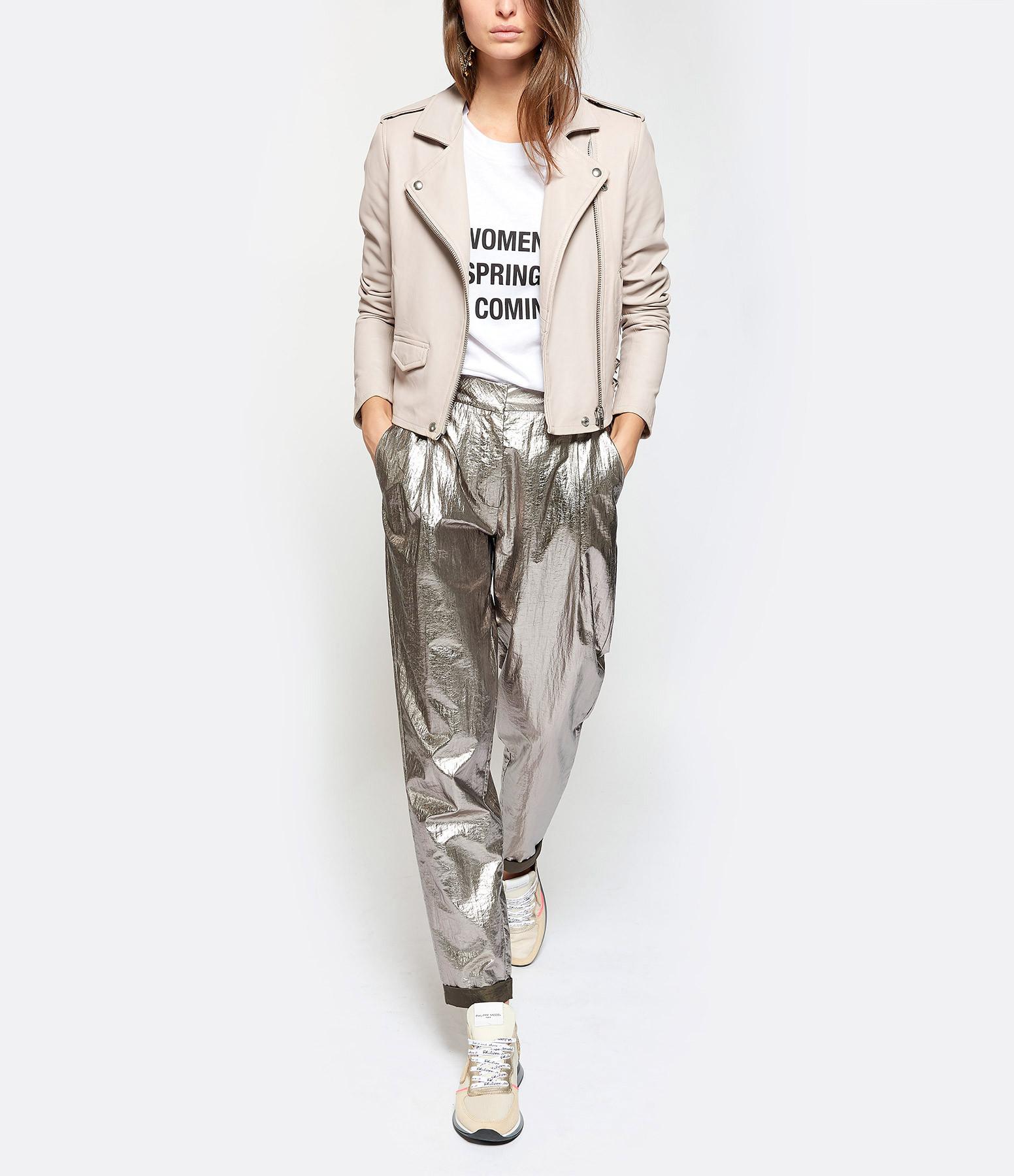 IRO - Tee-shirt Wyona Coton Blanc