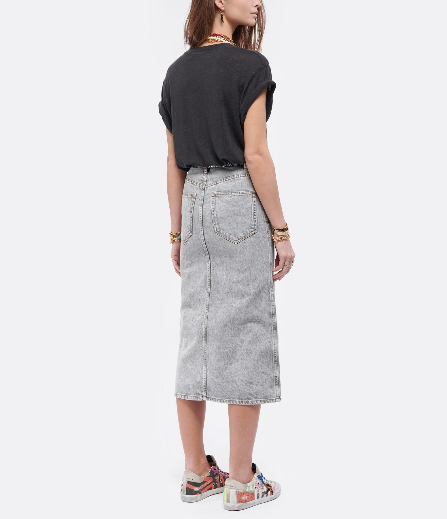 IRO - Tee-shirt Sunshin Lin Noir