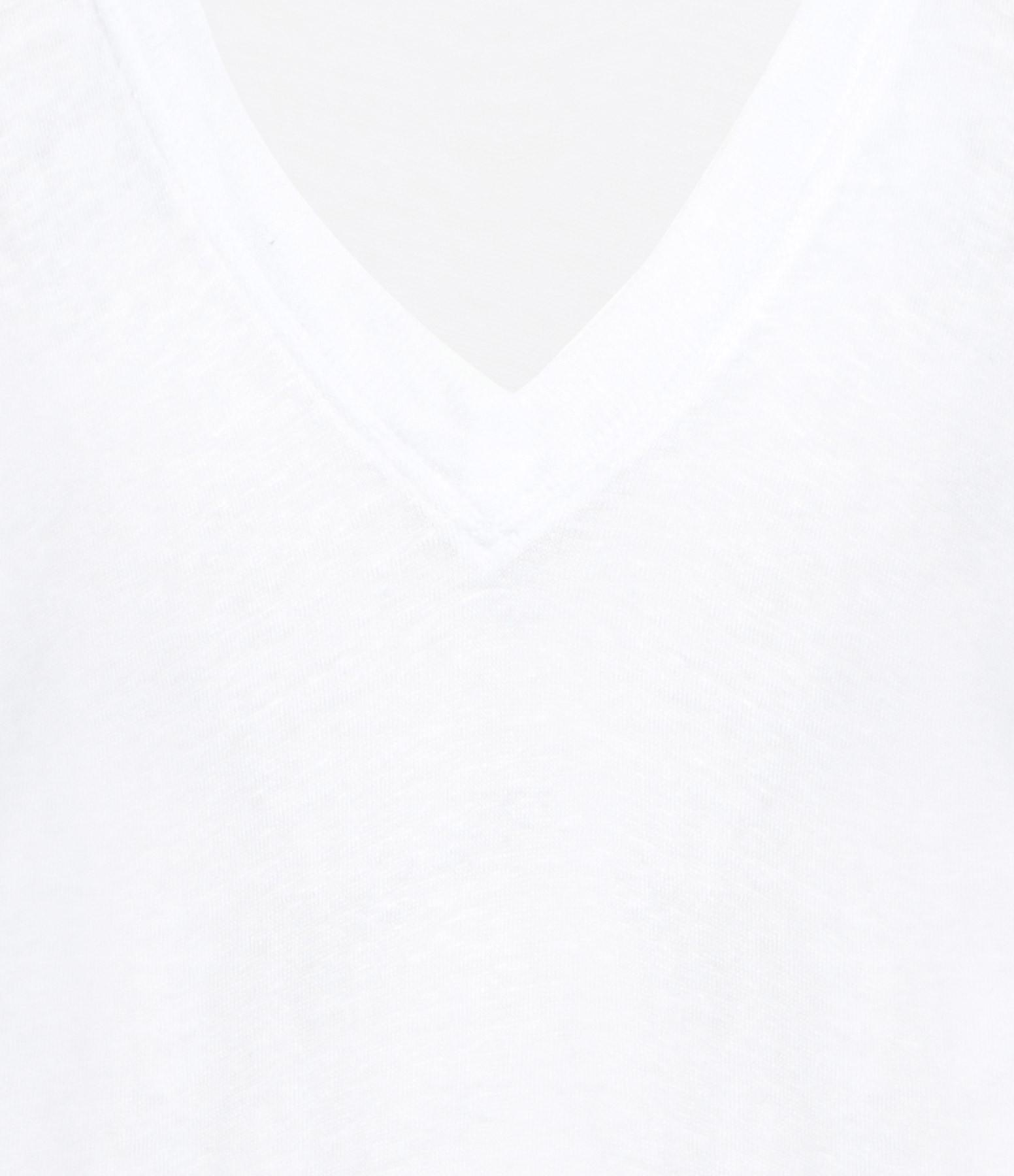 IRO - Tee-shirt Héloïse Lin Blanc