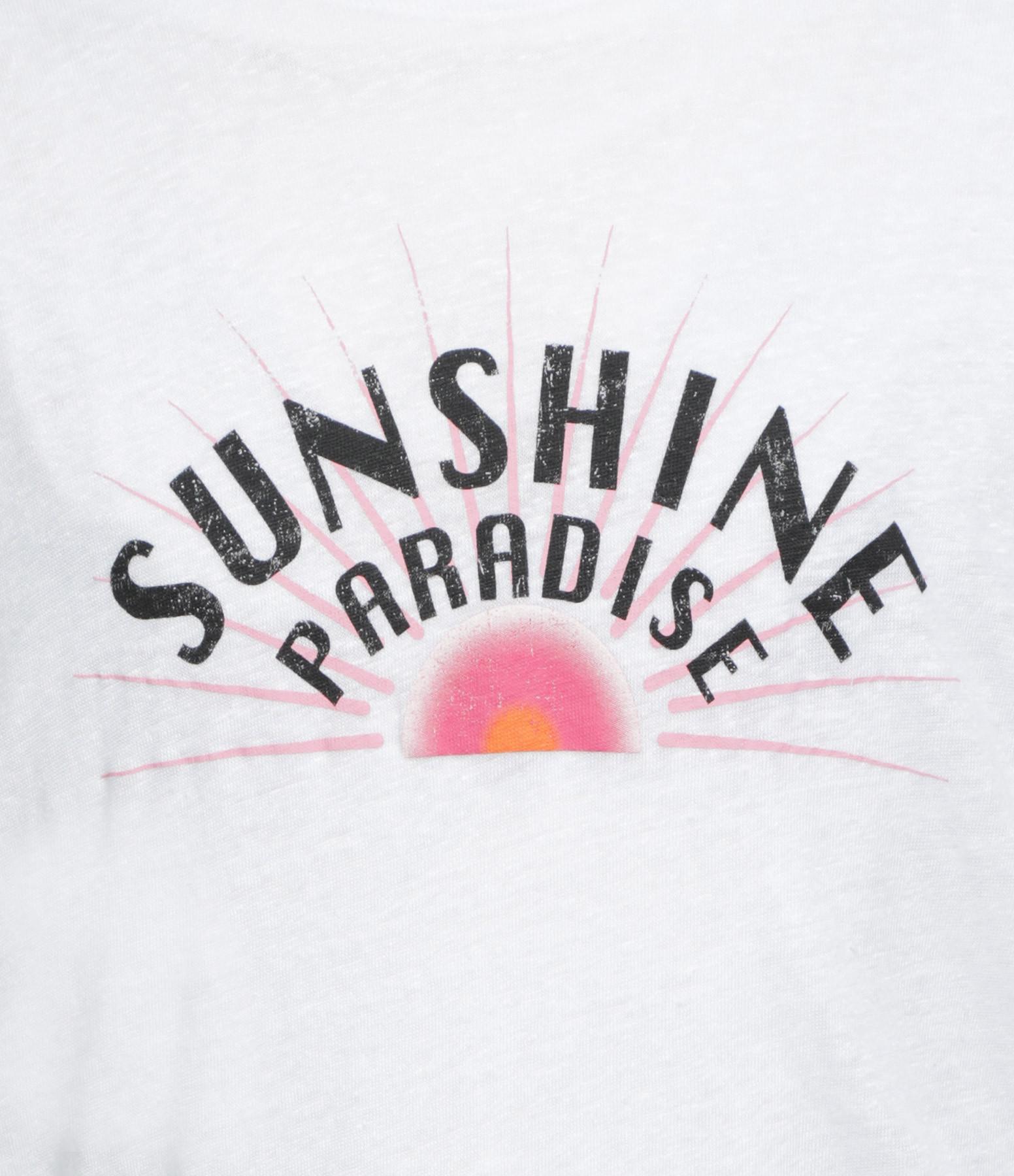 IRO - Tee-shirt Sunshin Lin Blanc