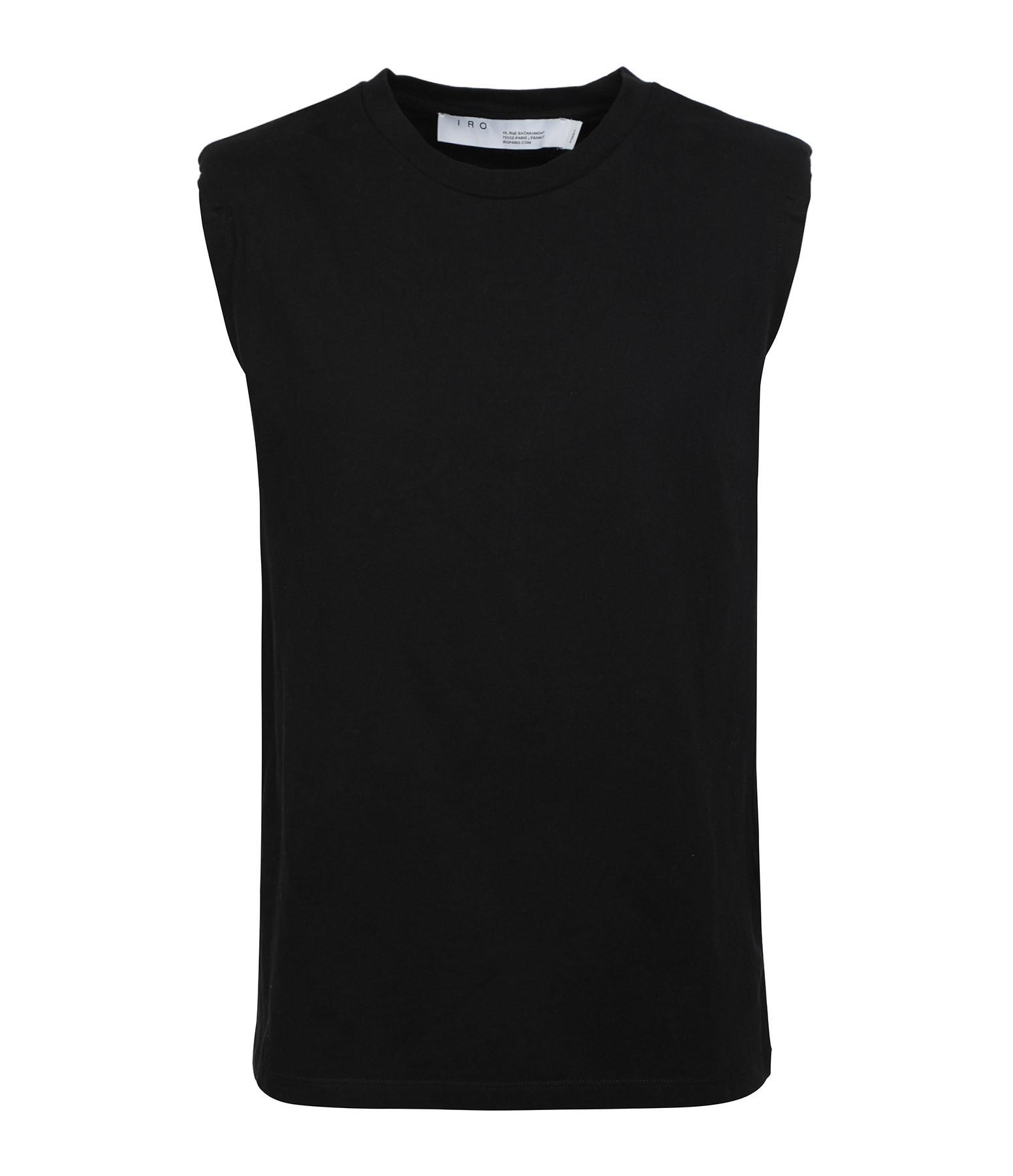 IRO - Top Loud Coton Noir