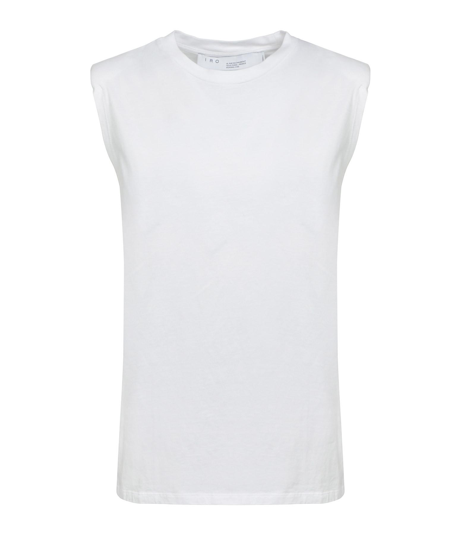 IRO - Top Loud Coton Blanc
