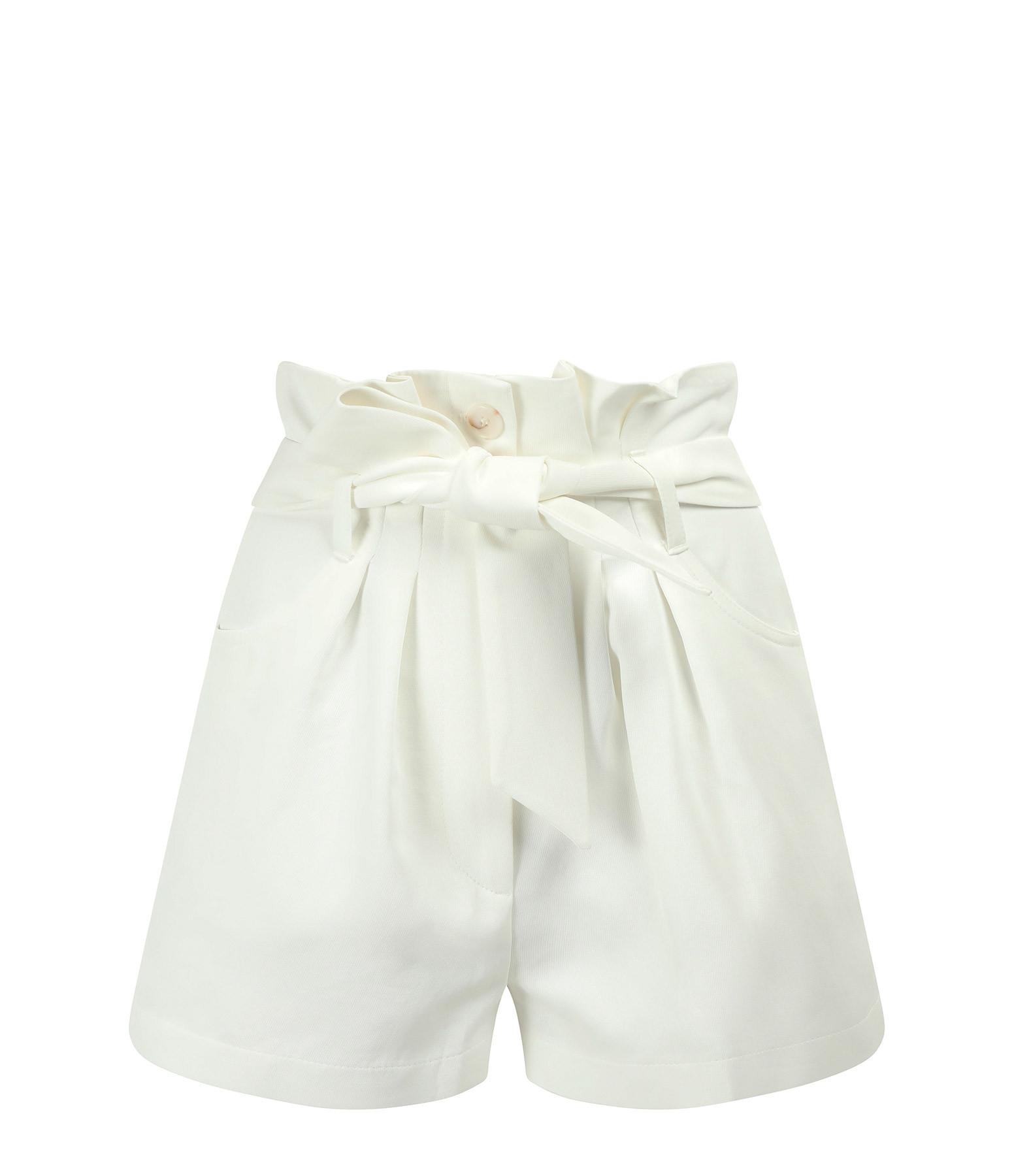 IRO - Short Epinac Coton Blanc