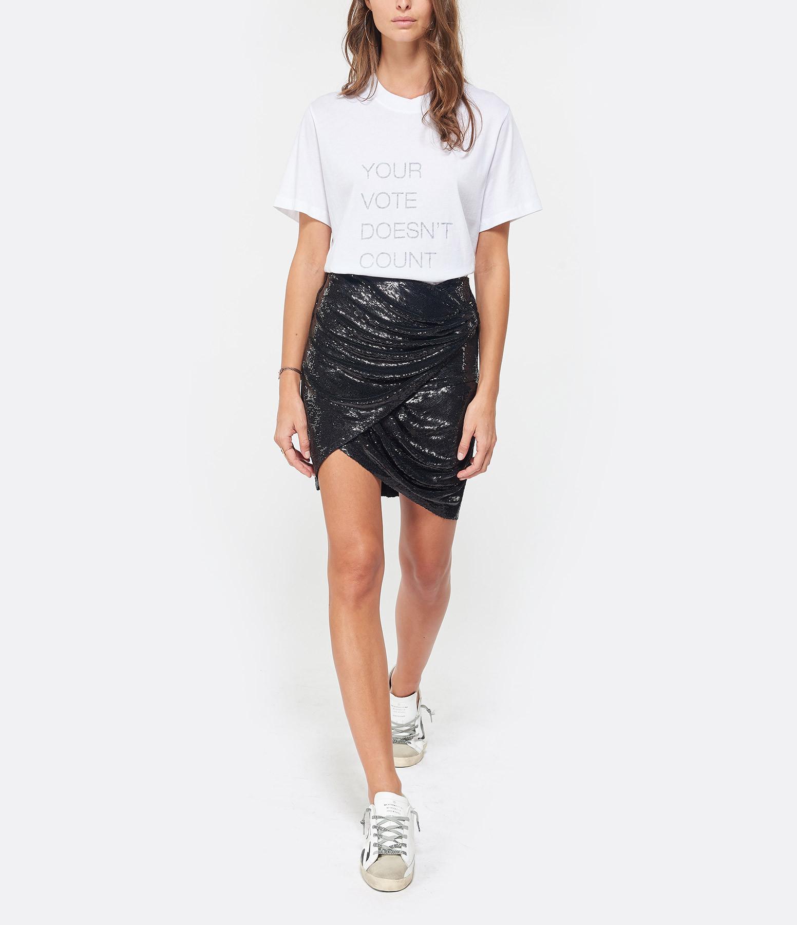 IRO - Tee-shirt Valkyr Coton Blanc
