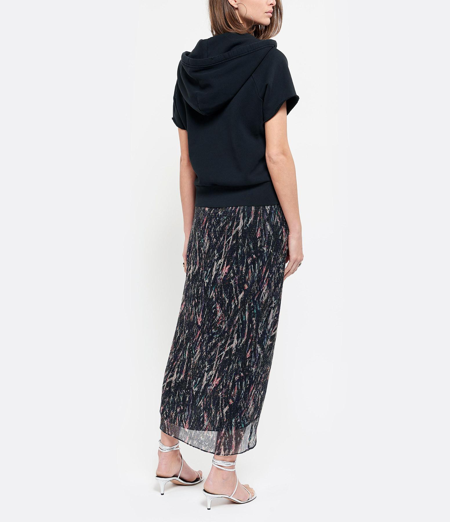 IRO - Jupe Aubagna Multicolore Noir