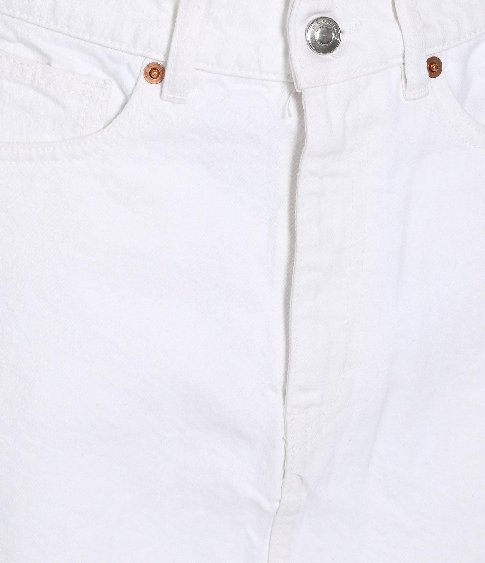 IRO - Jupe Fores Coton Blanc