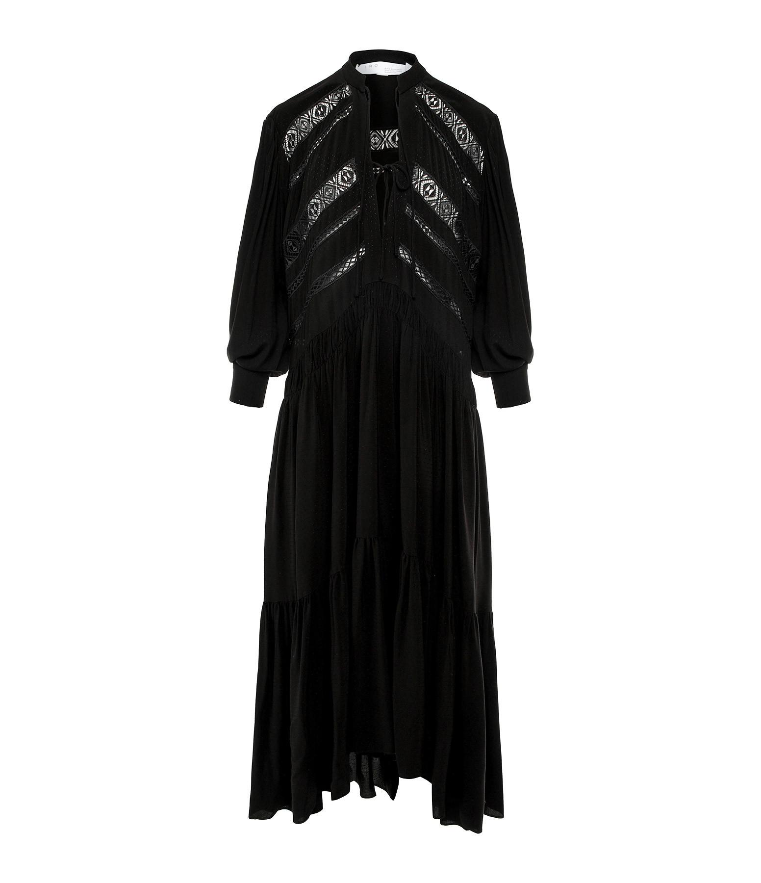 IRO - Robe Padding Noir