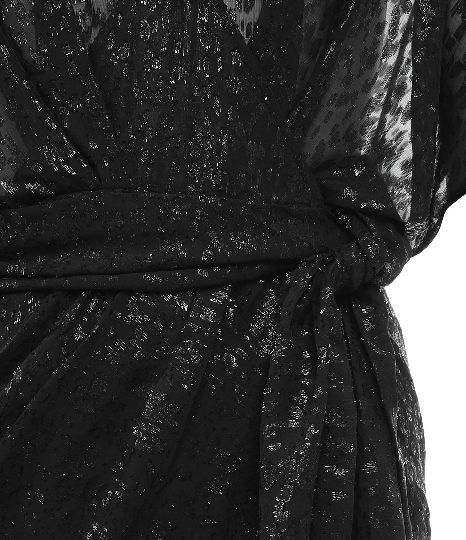 IRO - Robe Reynéa Soie Noir