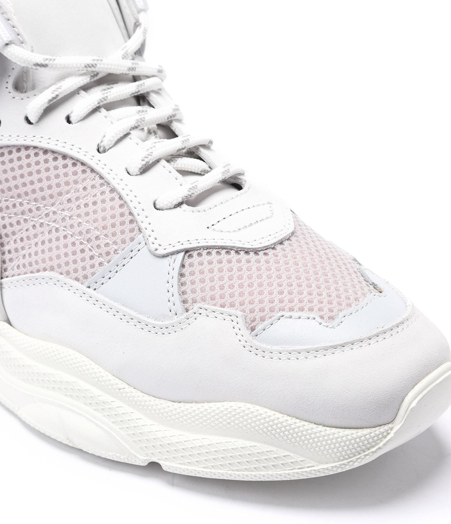 IRO - Baskets Curve-Runner Cuir Blanc