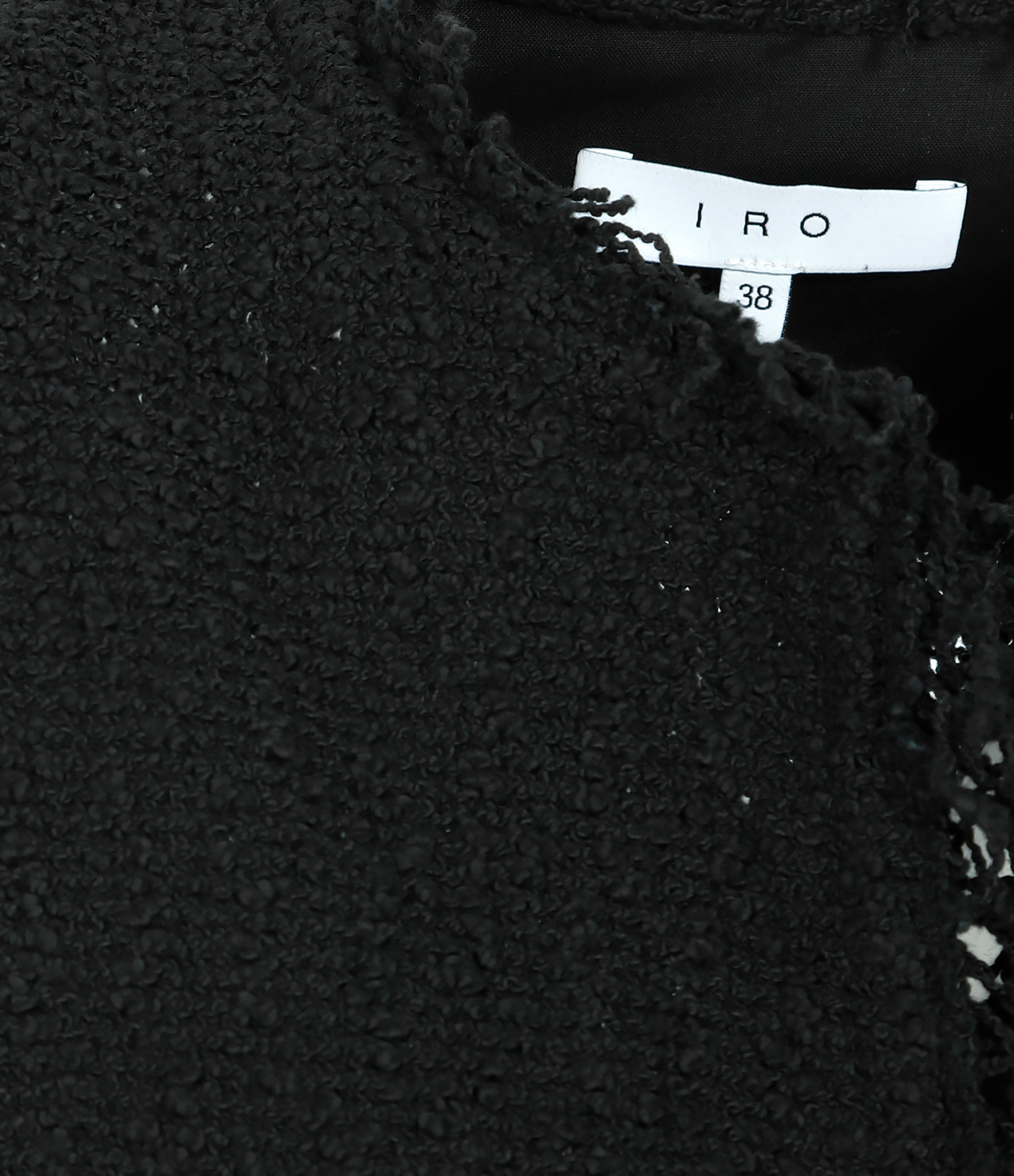 IRO - Veste Shavani Coton Noir