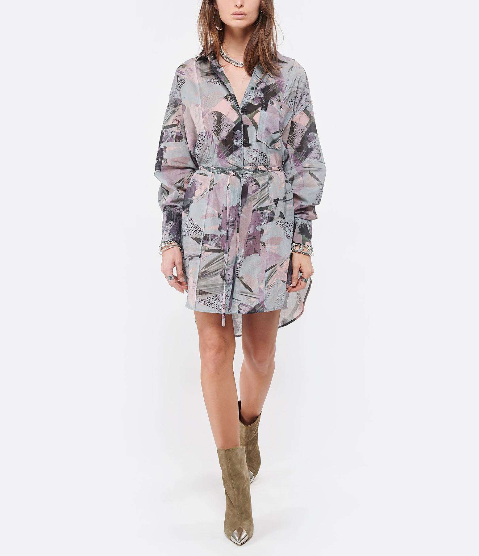 IRO - Robe Cielo Coton Multicolore