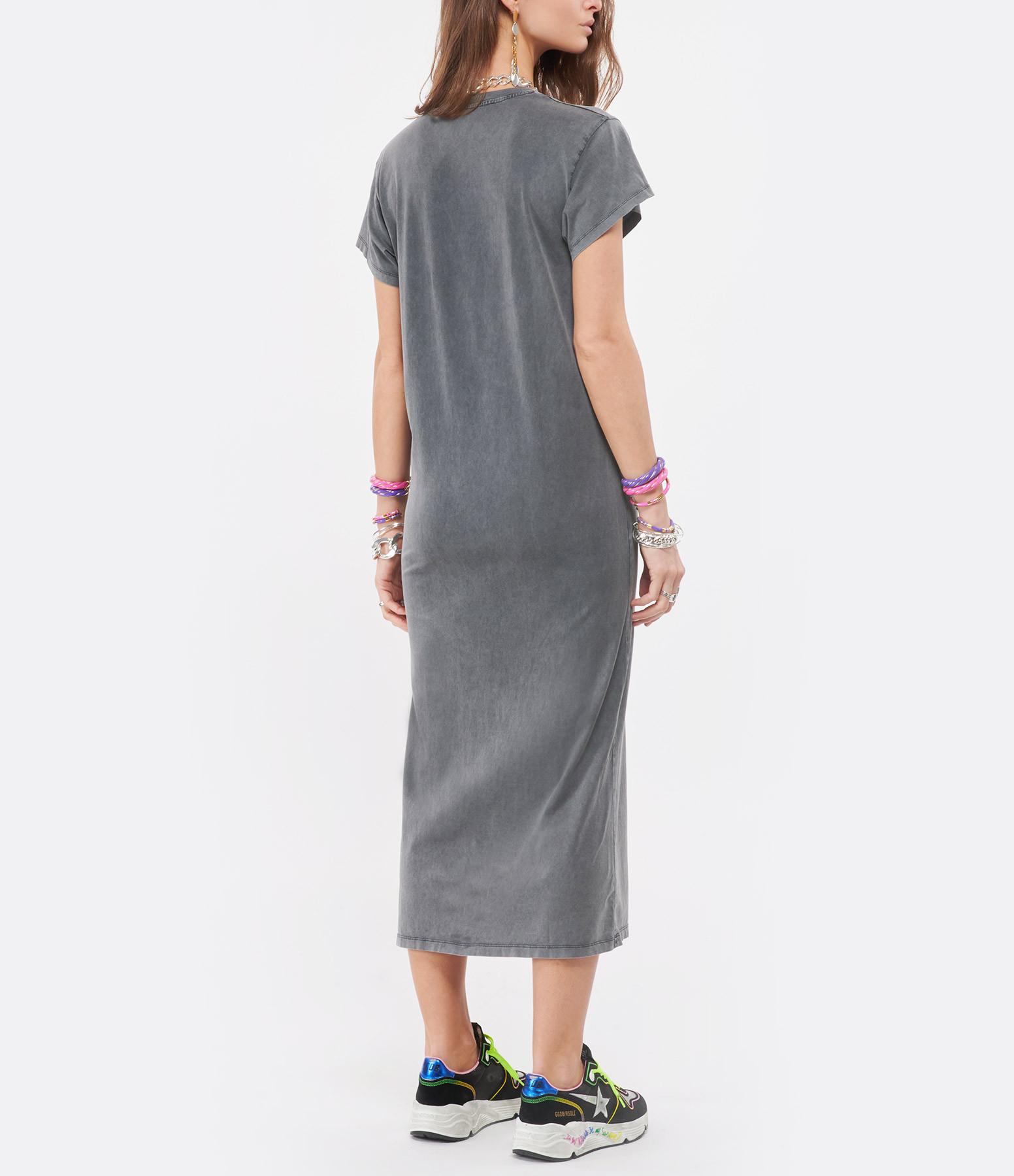 IRO - Robe Elisha Coton Gris