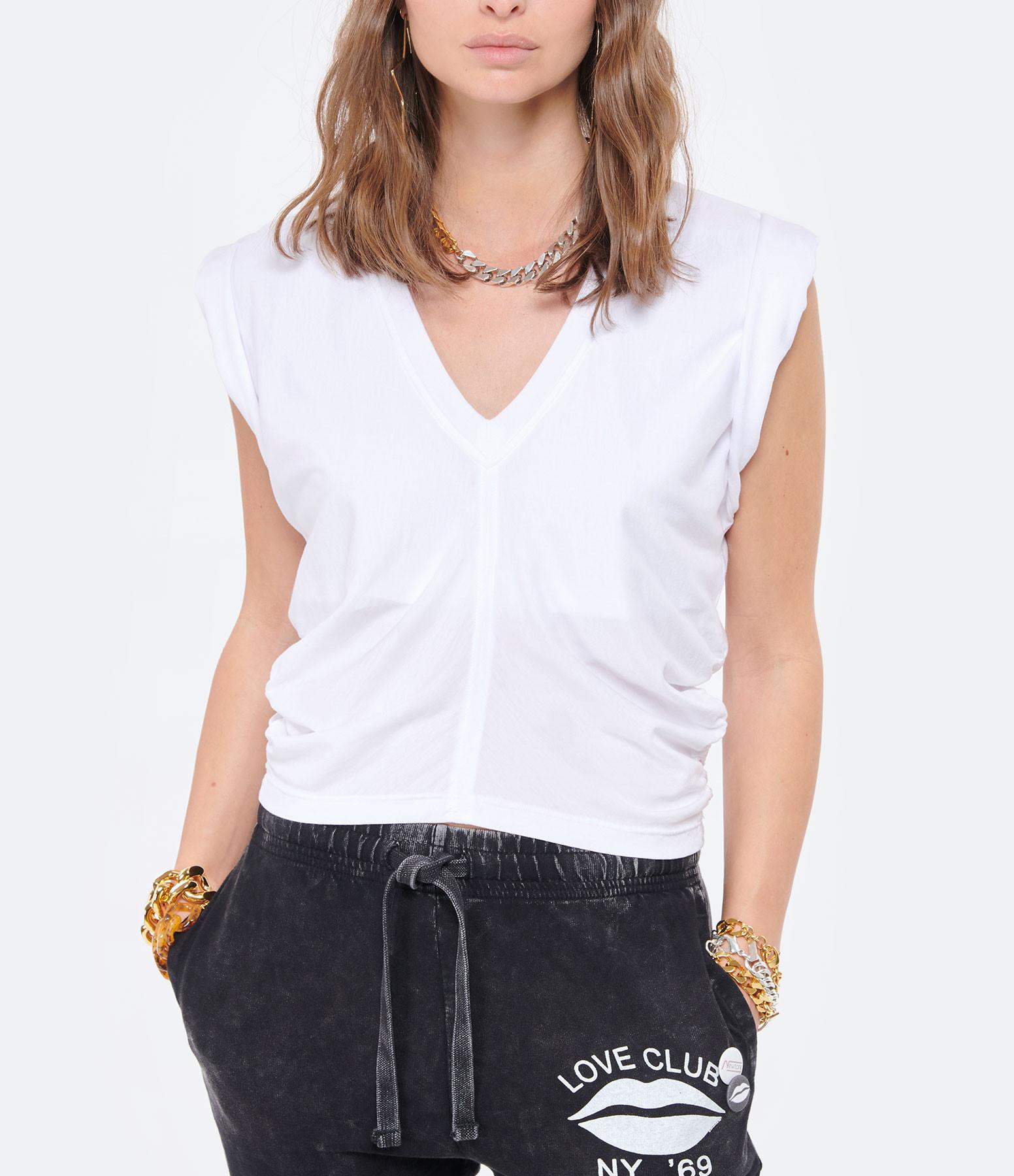 IRO - Tee-shirt Deanna Coton Blanc