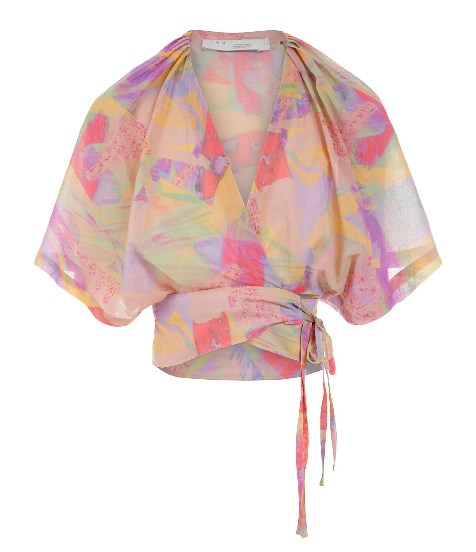 IRO - Top Berni Coton Multicolore