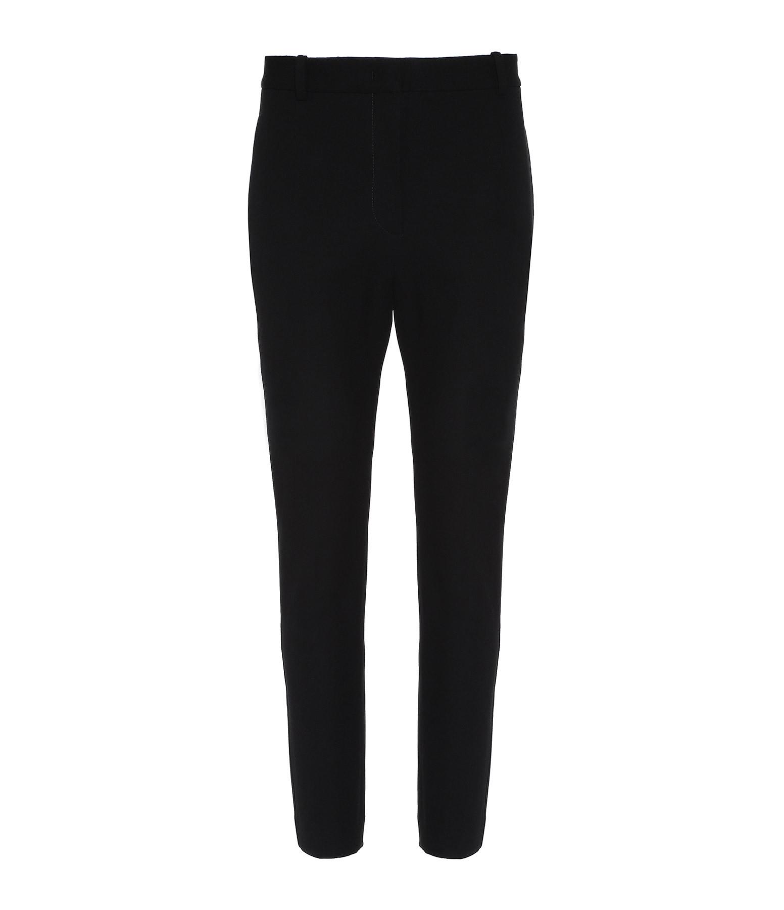 JOSEPH - Pantalon Zoom Gabardine Coton Noir