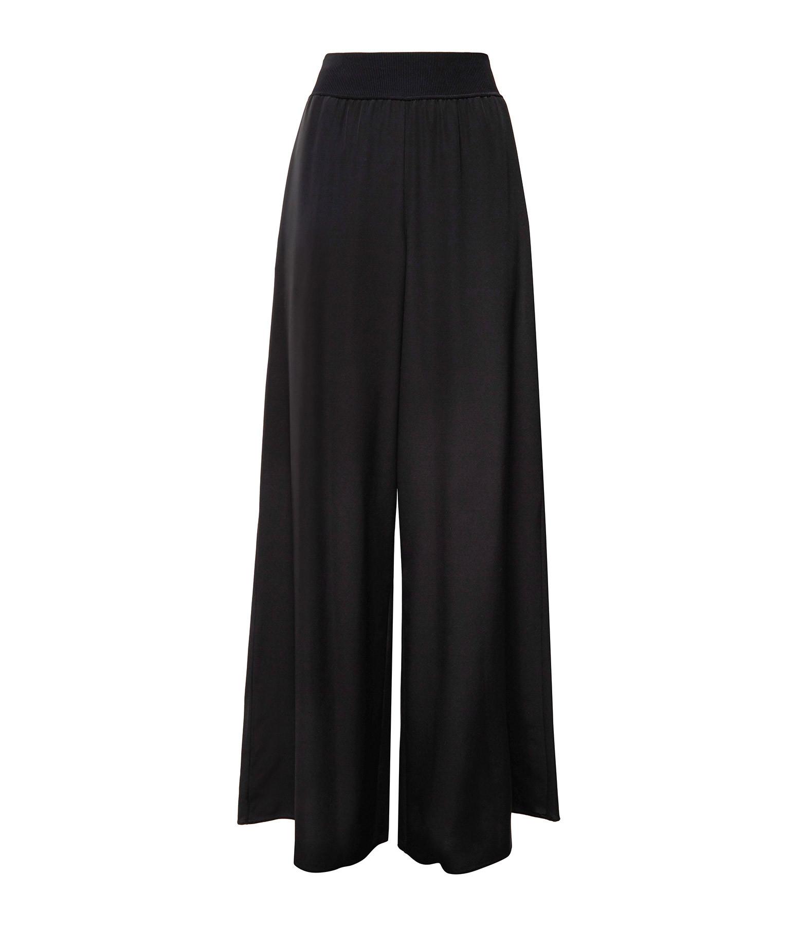 JOSEPH - Pantalon Huland Crêpe de Soie Noir